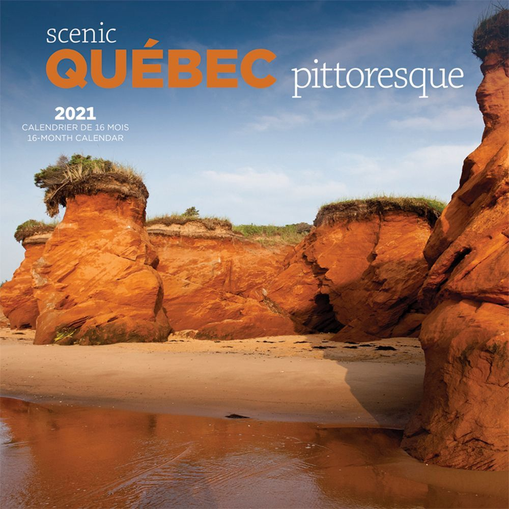 2021 Quebec Wild & Scenic Wall Calendar
