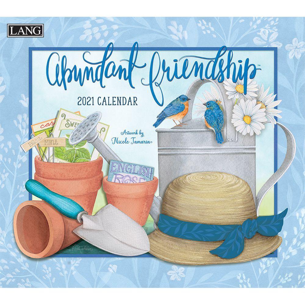 2021 Abundant Friendship Wall Calendar by Nicole Tamarin