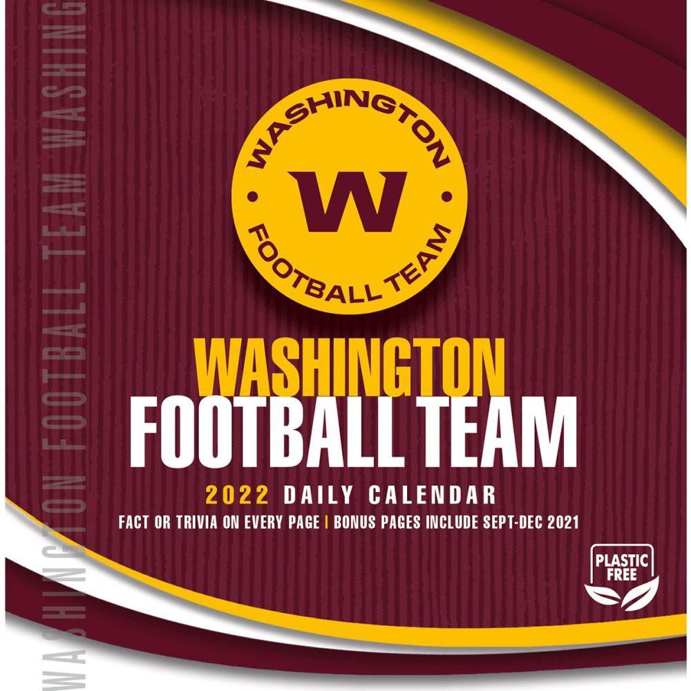 Washington Redskins 2022 Desk Calendar