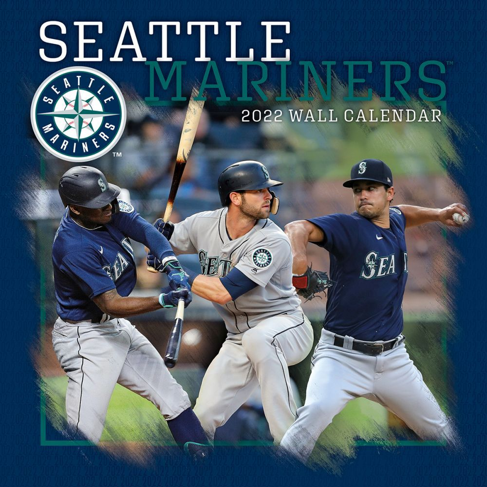 Seattle Mariners 2022 Wall Calendar