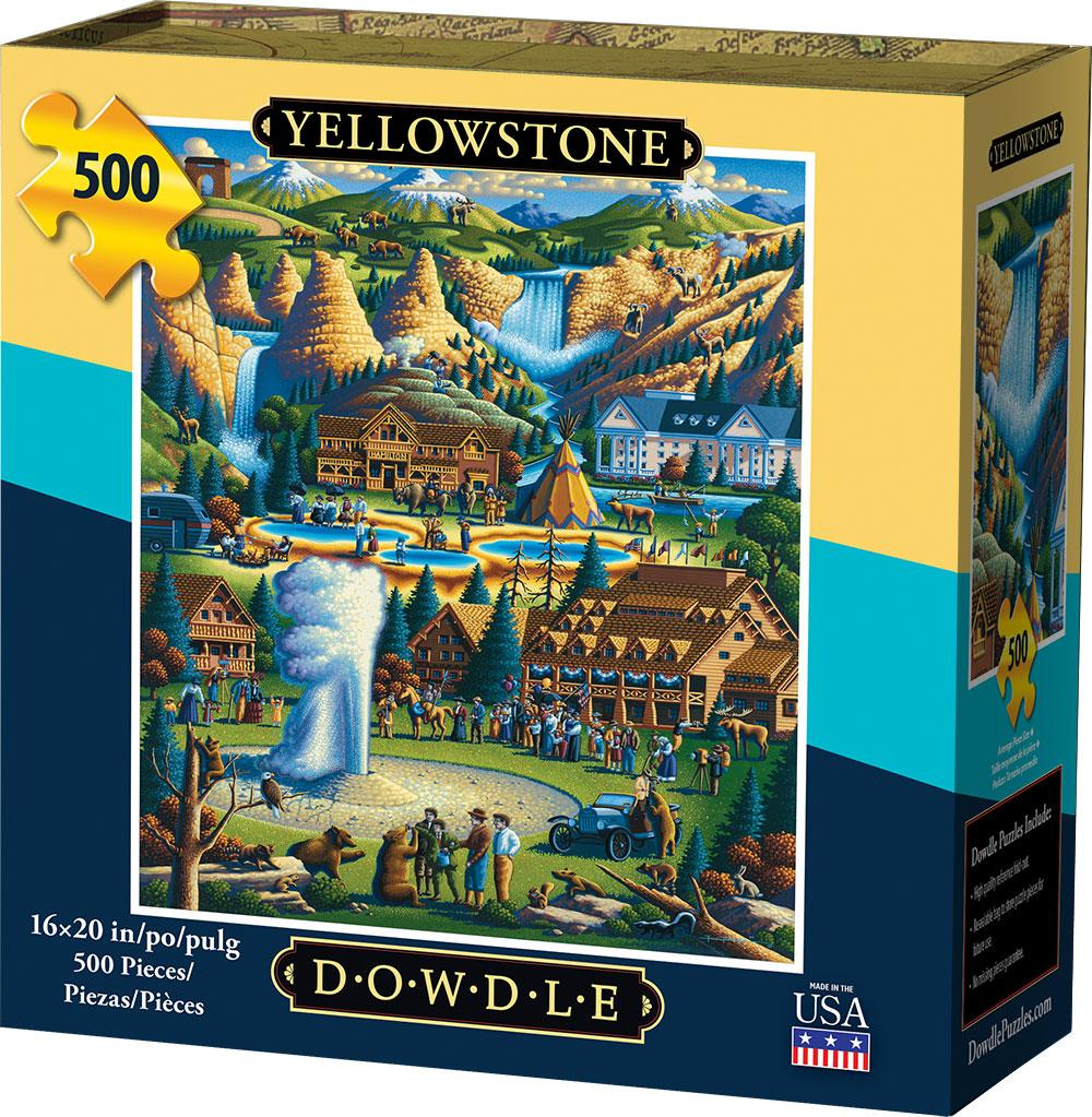 Best Yellowstone National Park 500pc Puzzle You Can Buy