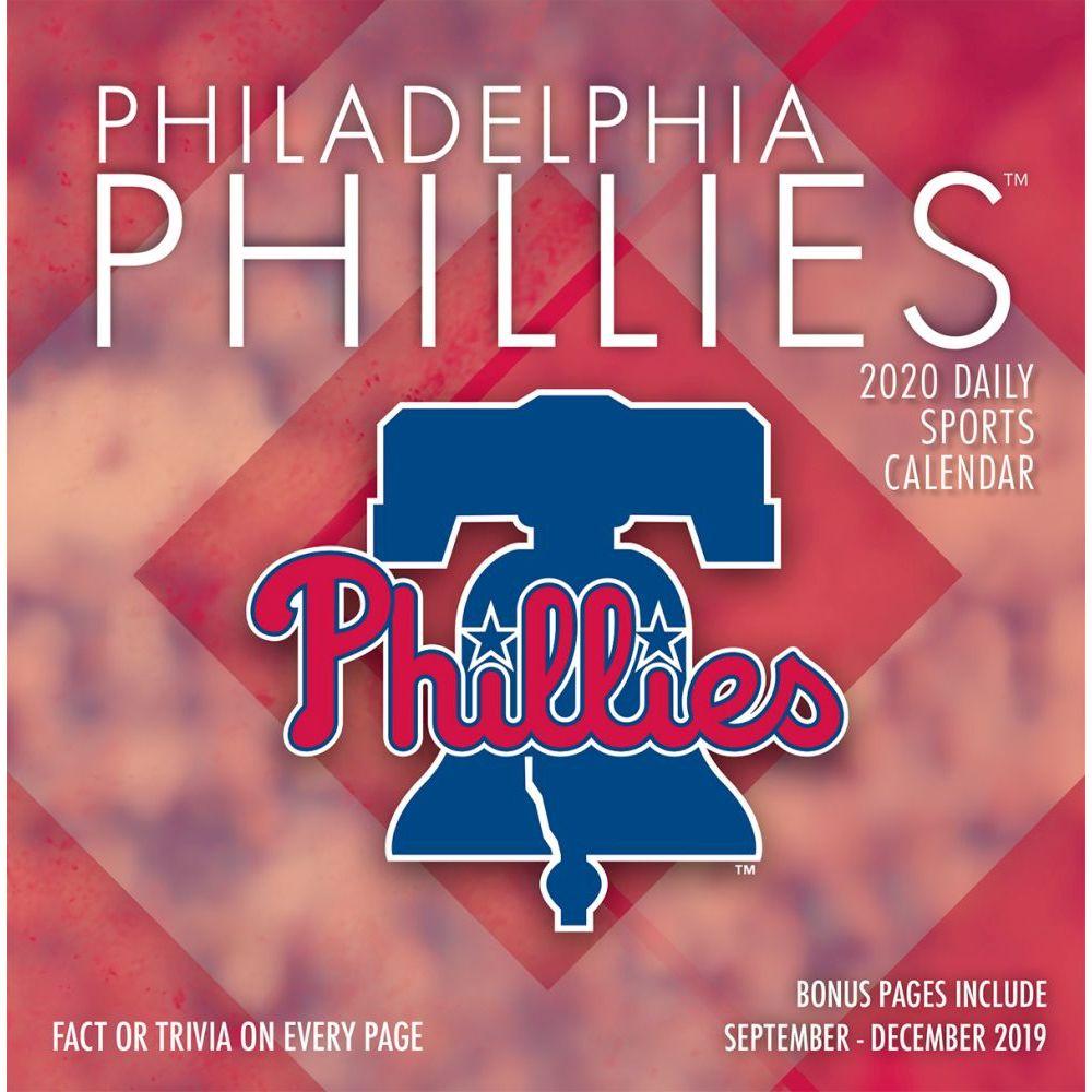 Philadelphia Phillies 2021 Desk Calendar