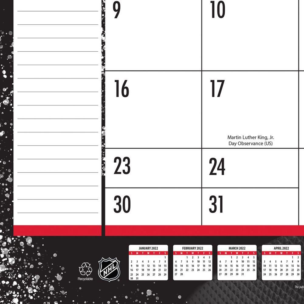 Chicago Blackhawks 2022 Desk Pad