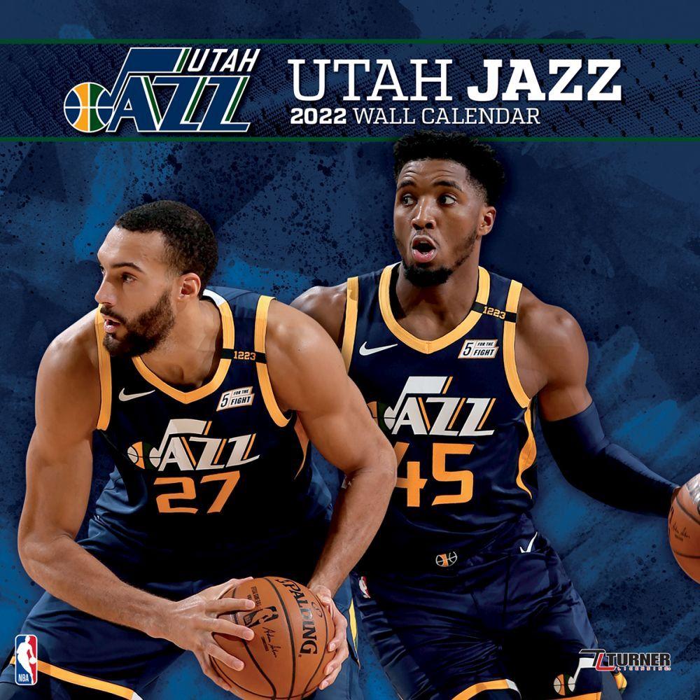 Utah Jazz 2022 Wall Calendar