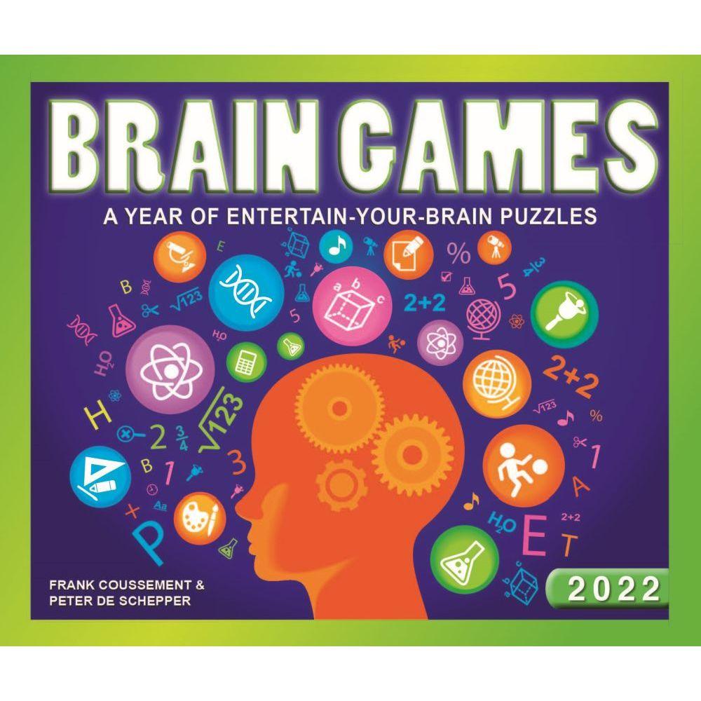 Brain Game 2022 Desk Calendar