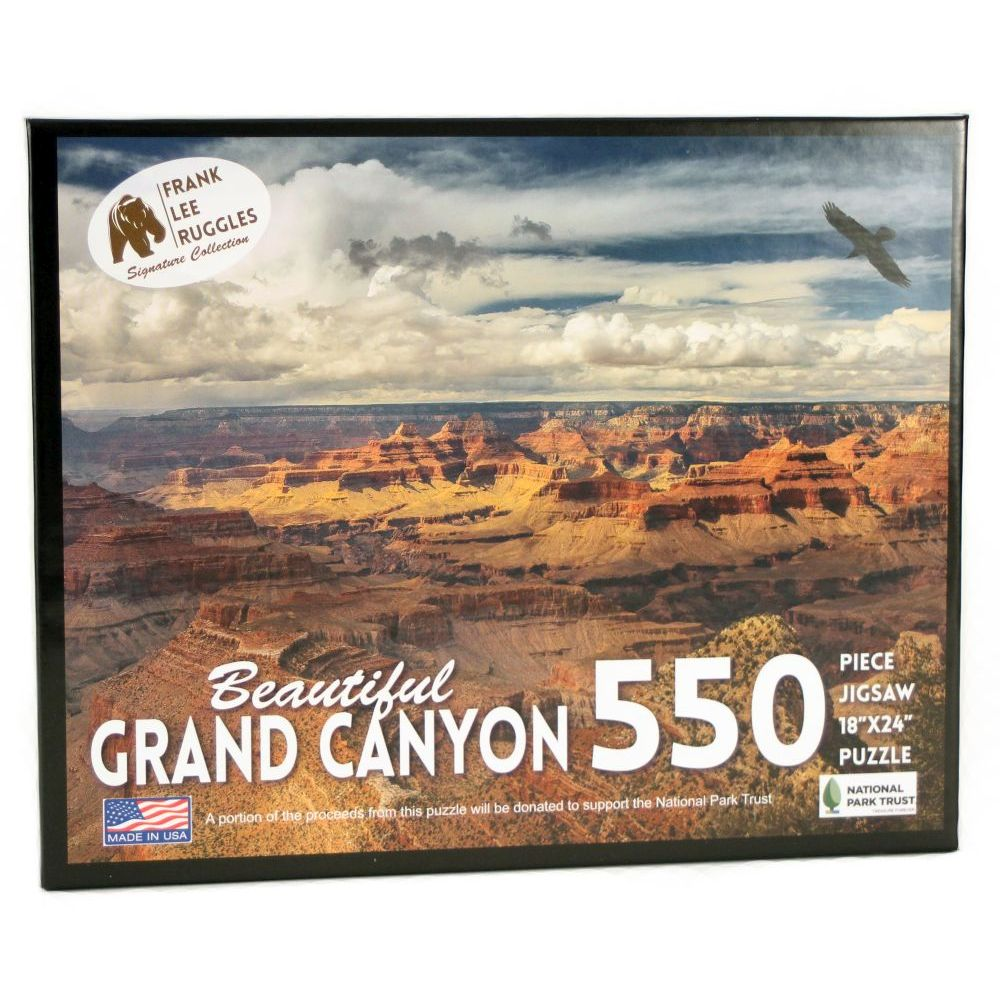 Best Grand Canyon Ruggles 550 pc Puzzle You Can Buy