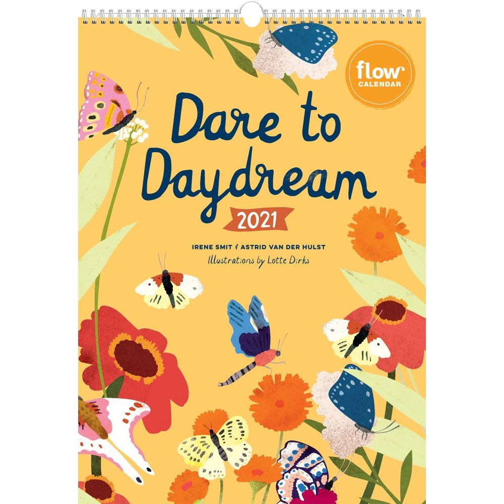 2021 Dare to Daydream Wall Calendar