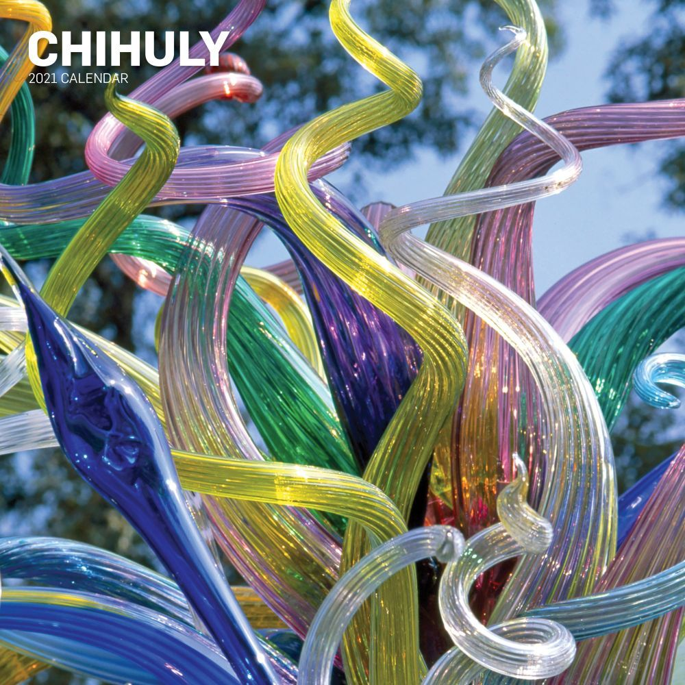 2021 Chihuly Wall Calendar