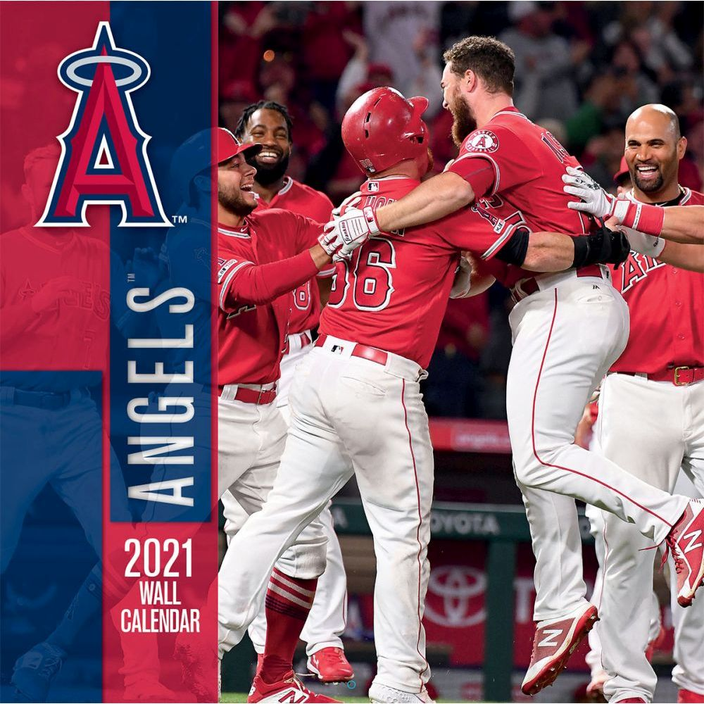 2021 Los Angeles Angels Wall Calendar