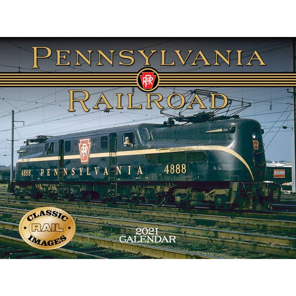 2021 Trains Pennsylvania Railroad Wall Calendar