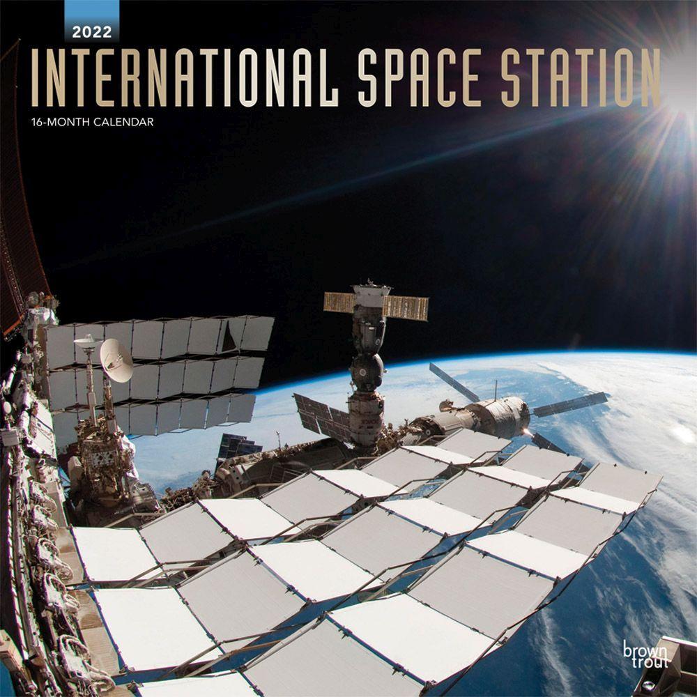 International Space Station 2022 Wall Calendar