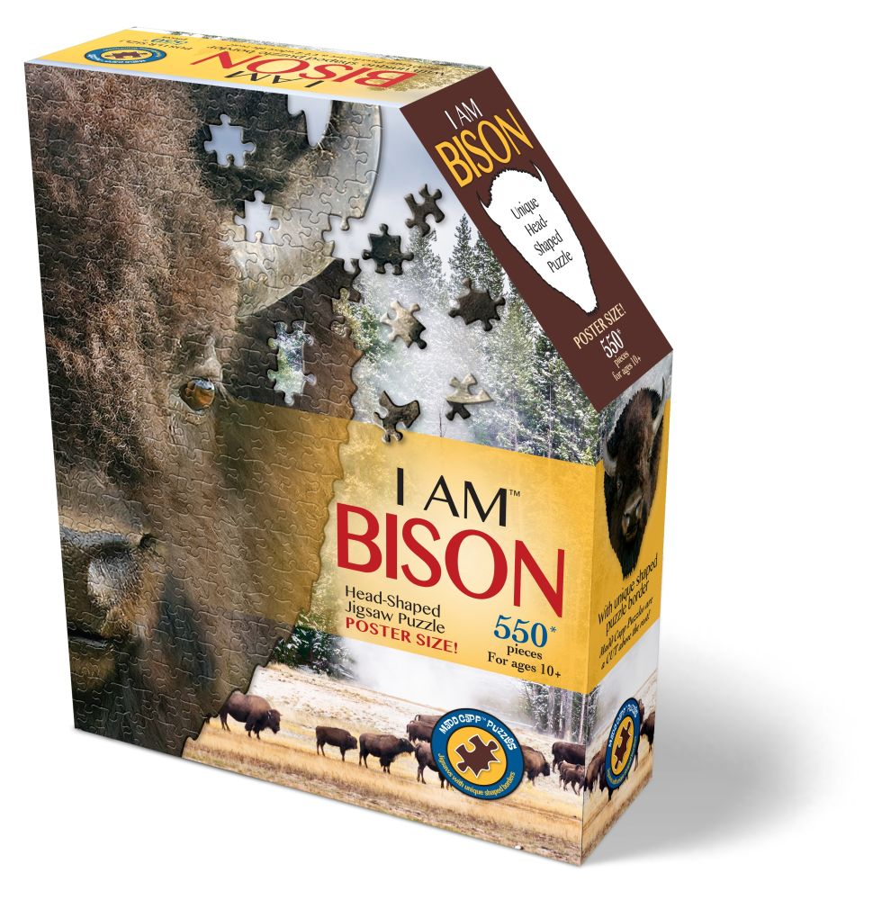 Best I Am Bison 550pc Puzzle You Can Buy