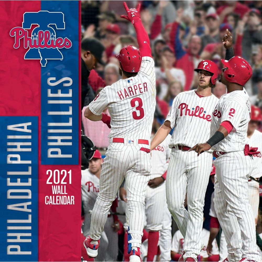 Philadelphia Phillies 2021 Wall Calendar