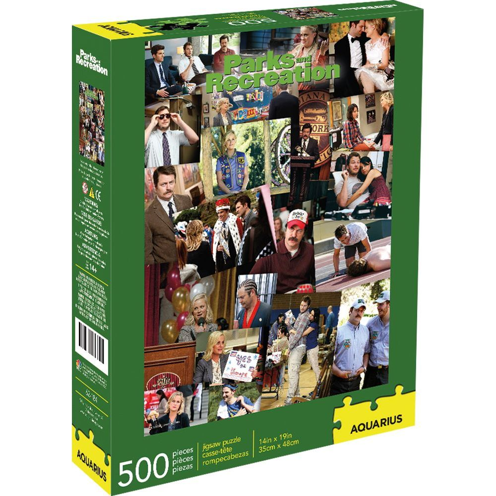 Best Parks and Rec Collage 500pc Puzzle You Can Buy