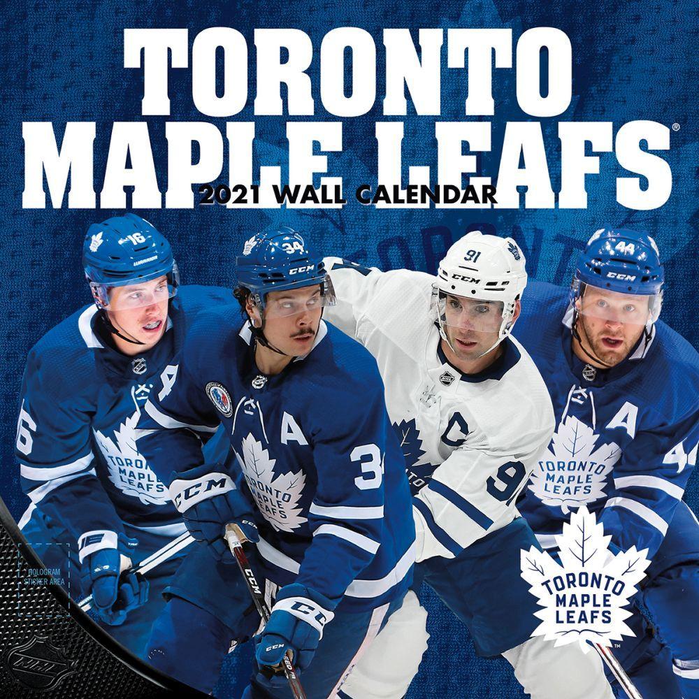 2021 Toronto Maple Leafs Team Wall Calendar