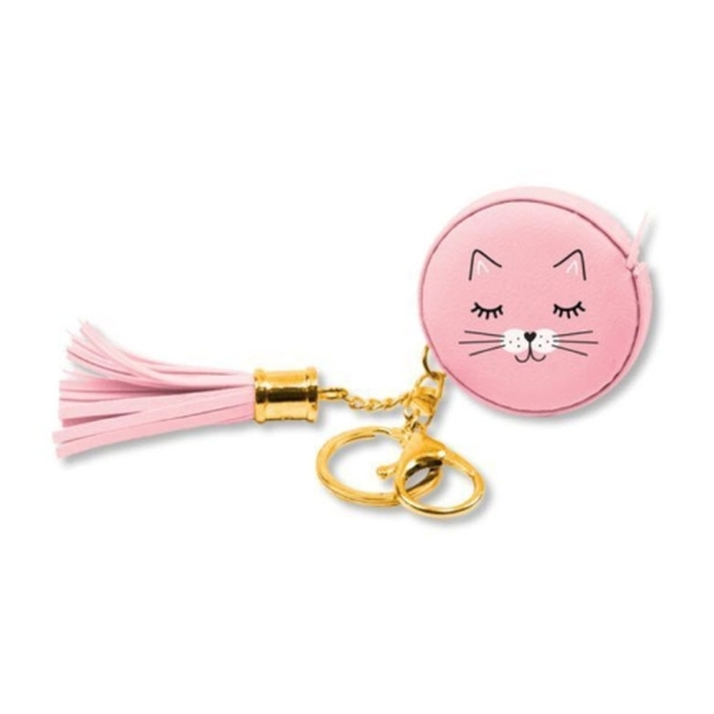 Kitty-Cat-Pink-Measuring-Tape-Keychain-1