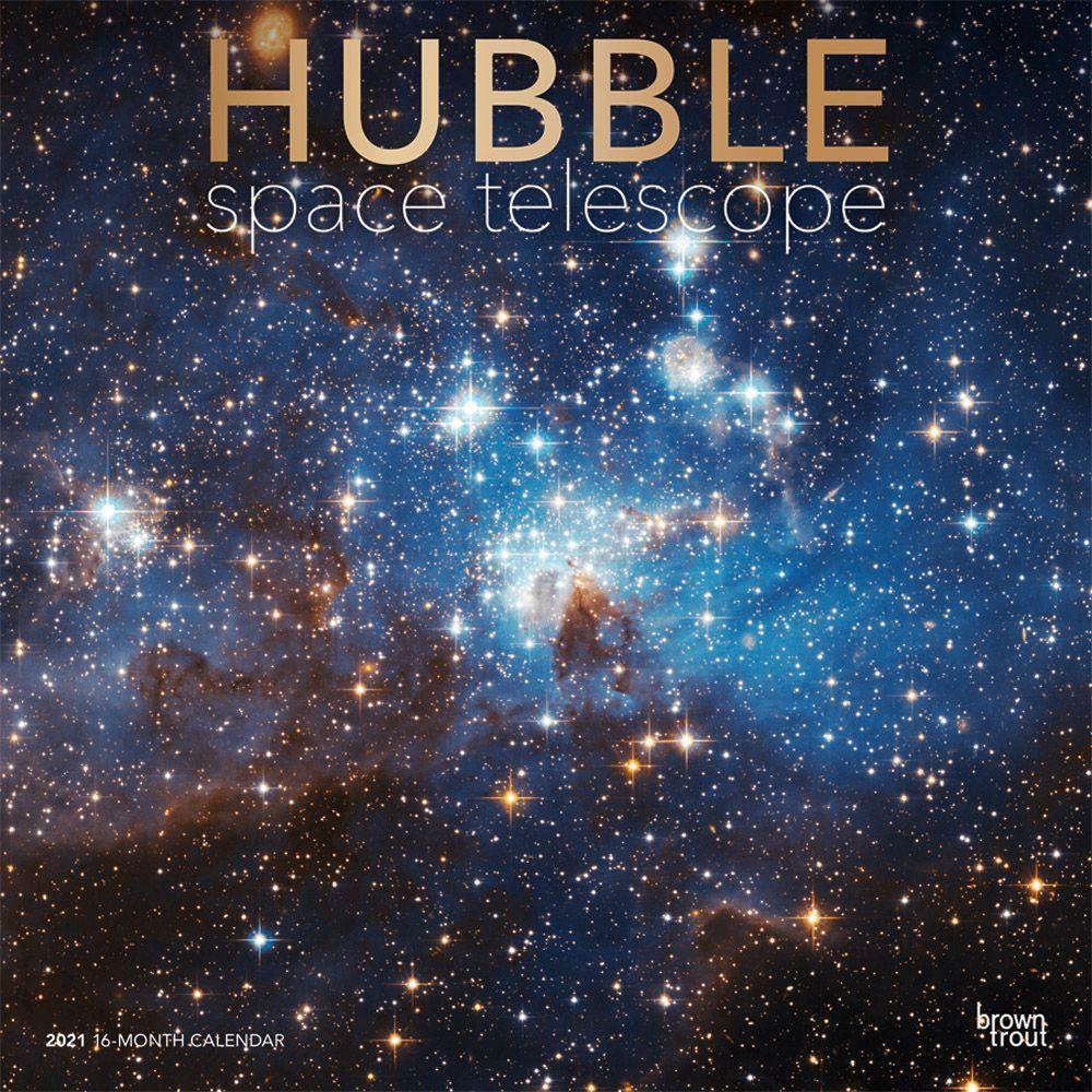 2021 Hubble Space Telescope Wall Calendar SV