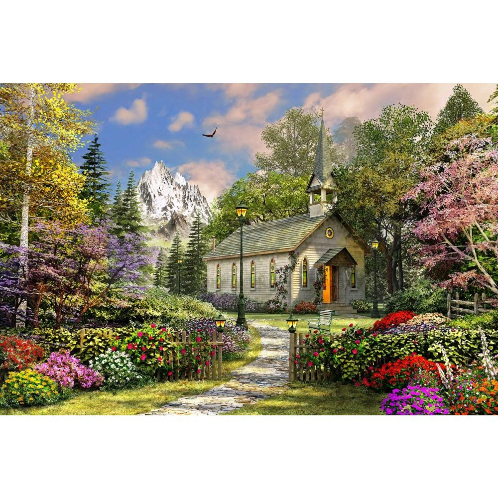 Mountain-View-Chapel-500pc-Puzzle-1