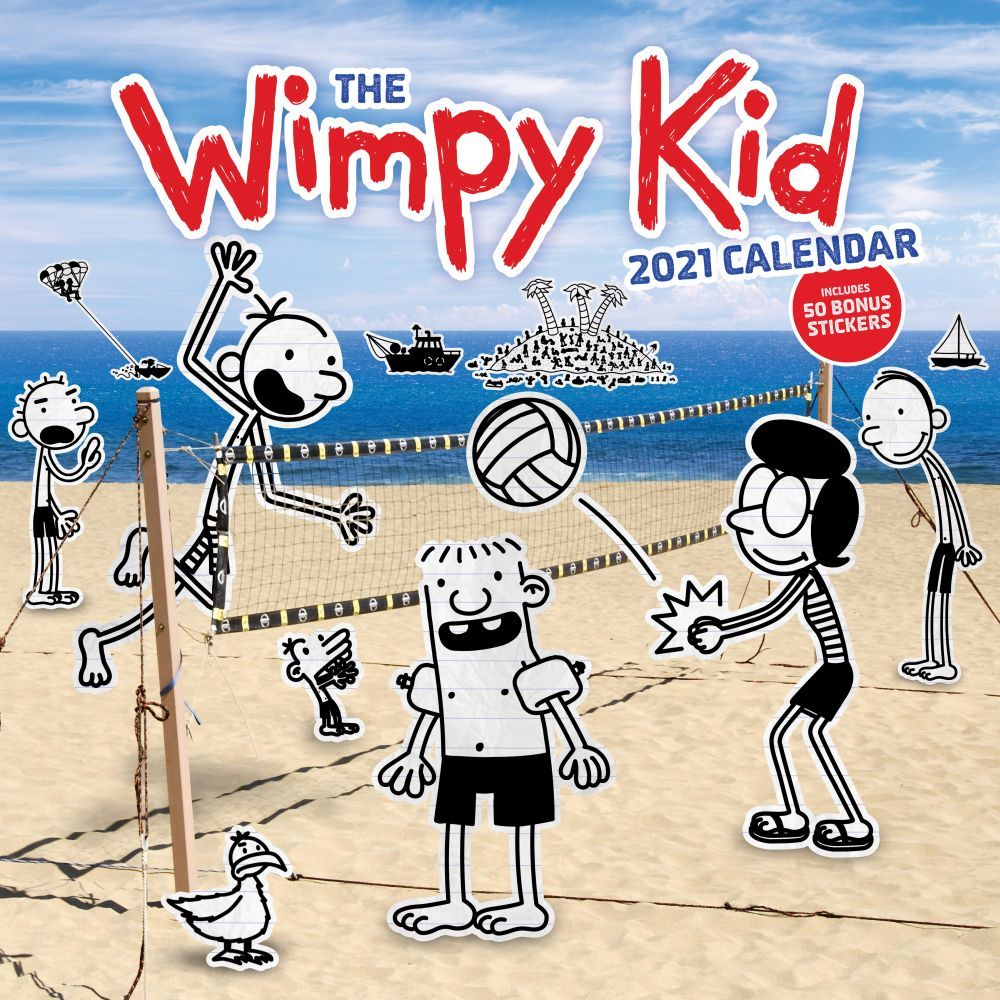 2021 Wimpy Kid Wall Calendar