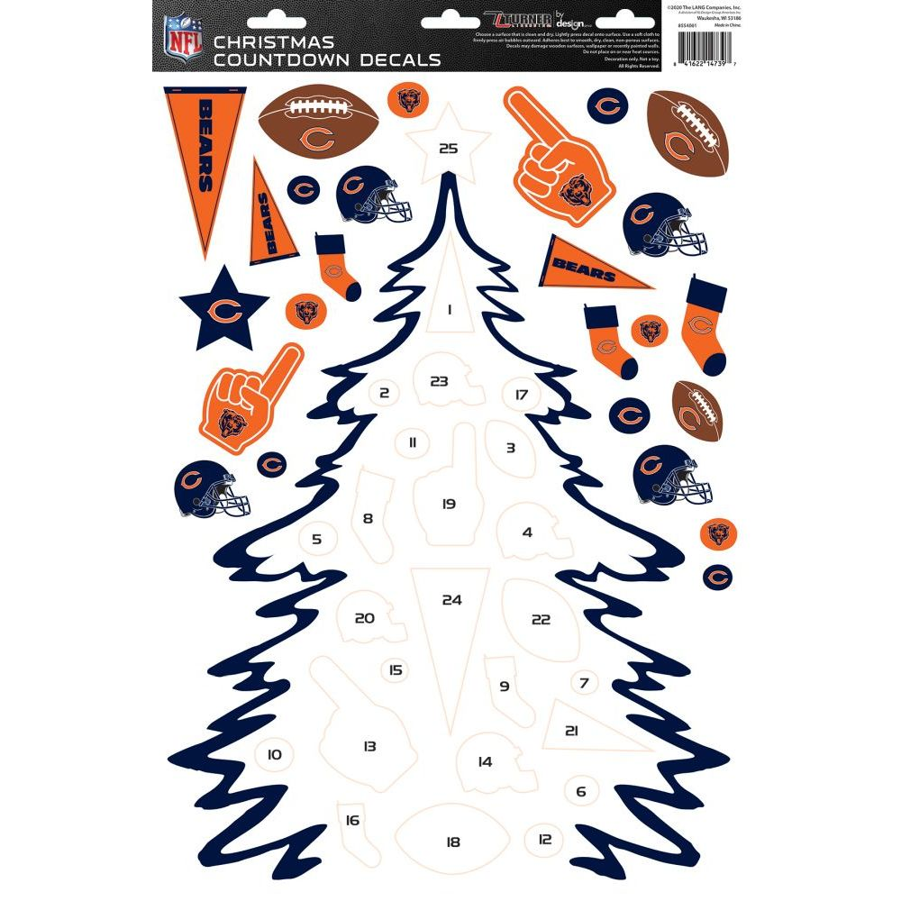 Nfl-Chicago-Bears-Christmas-Countdown