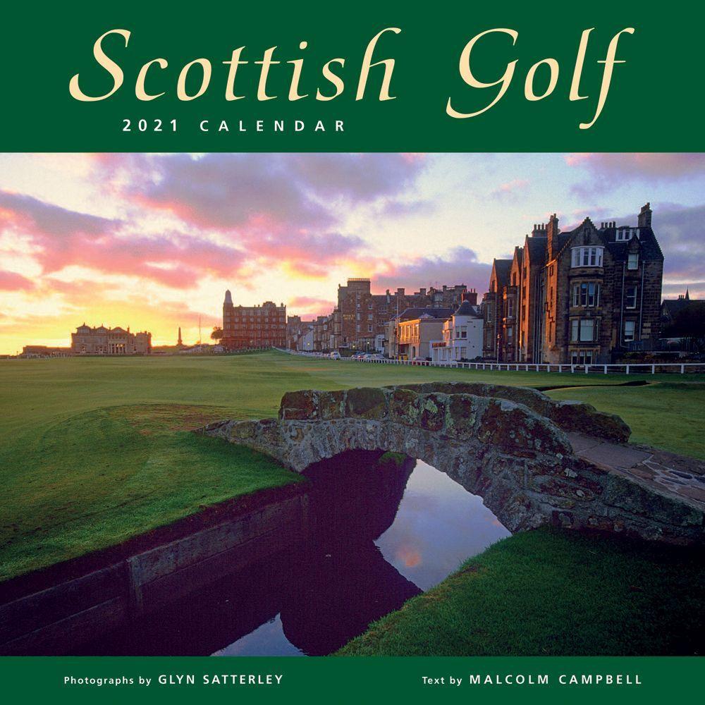 Scottish Golf Wall Calendar   Calendars.com