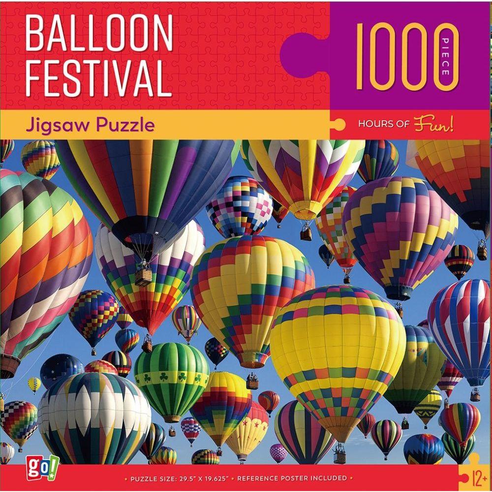 Jigsaw puzzle Hot Air Balloon Festival 1000 piece NEW