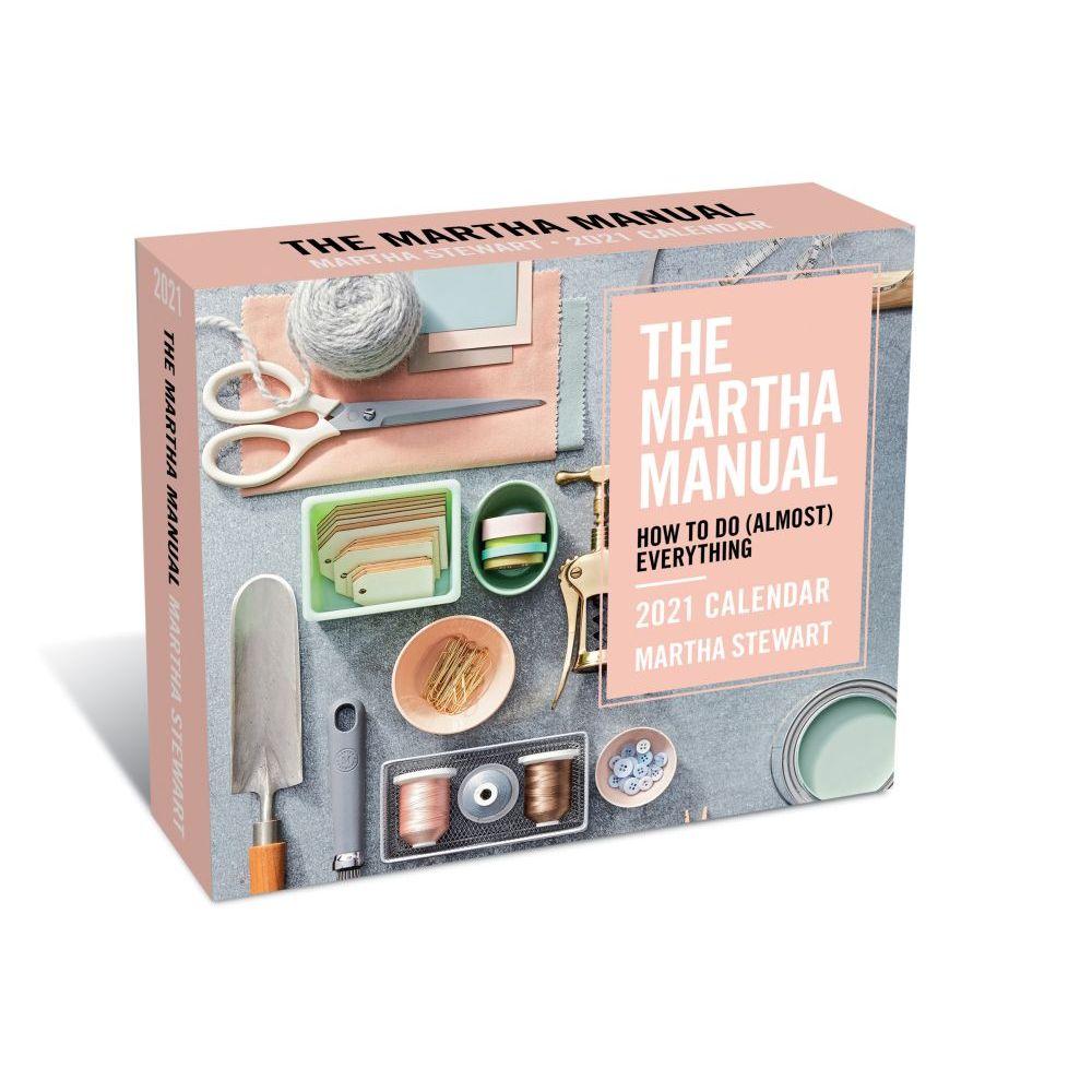 2021 Marthas Manual Deluxe Desk Calendar