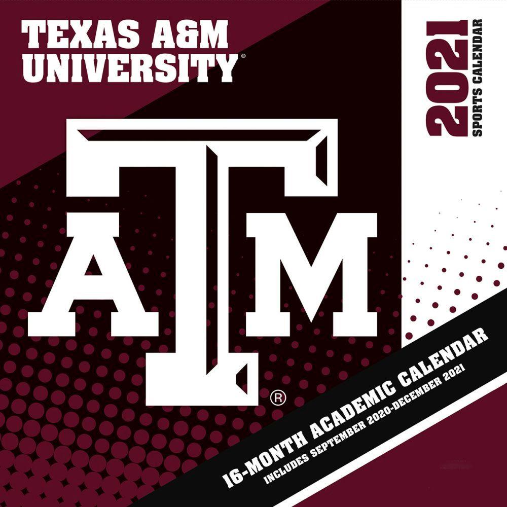 2021 COL Texas A&M Aggies Mini Wall Calendar