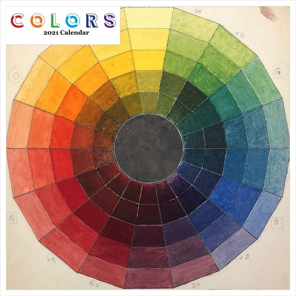 2021 Colors Wall Calendar