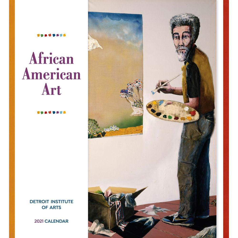 2021 African American Art Wall Calendar