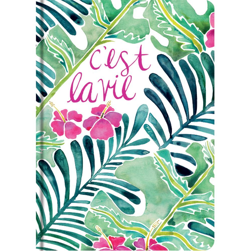 Tropical Paradise Elements Classic Journal by Cat Coquillette