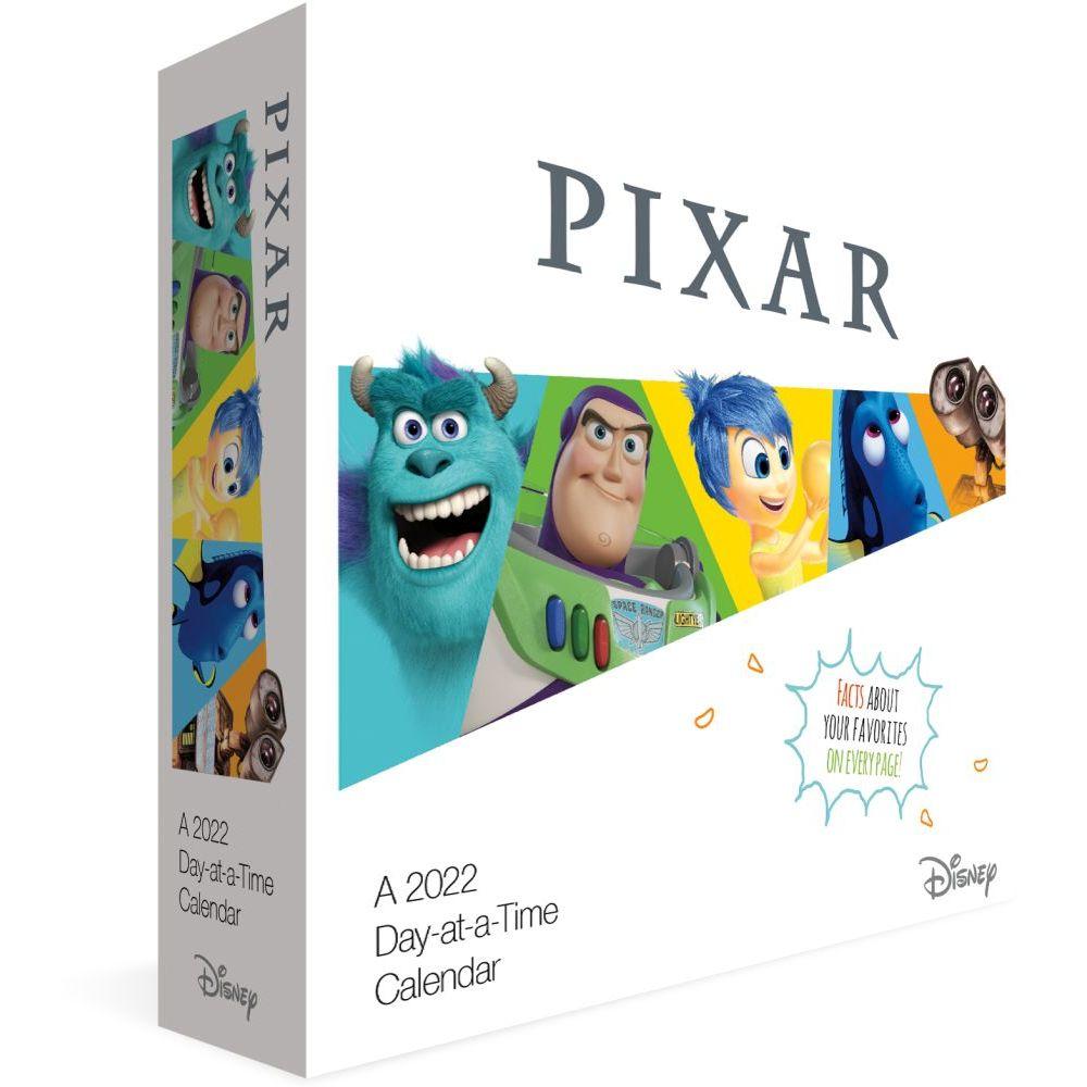 Disney Pixar 2022 Desk Calendar