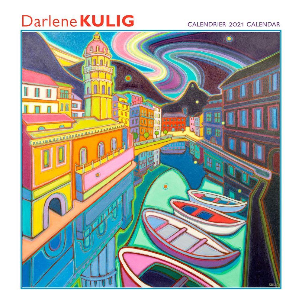2021 Canada The Art of Darlene Kulig Wall Calendar
