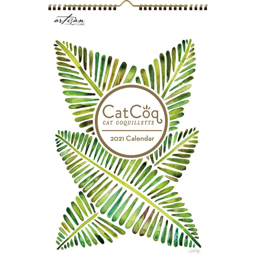 2021 CatCoq Poster Wall Calendar by Cat Coquillette