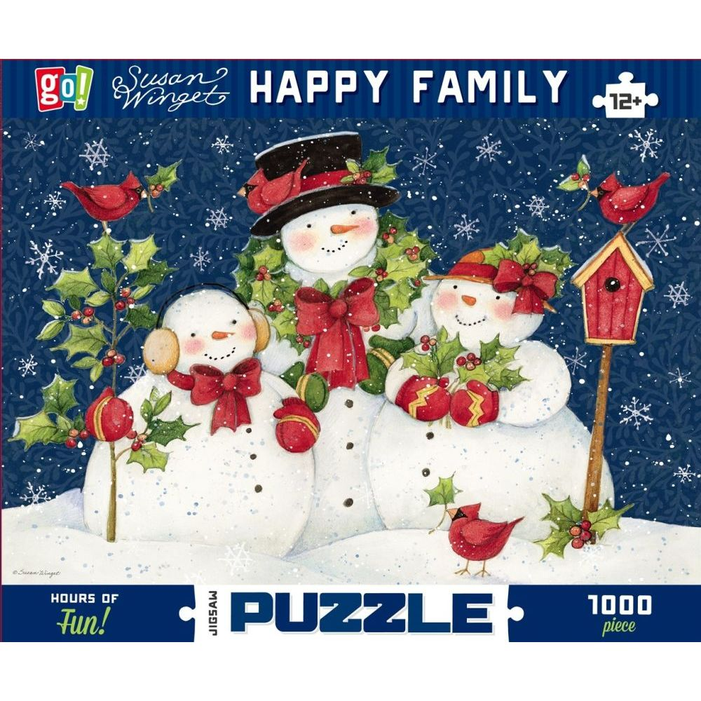 Best GC Winget Happy Family 1000pc Puzzle You Can Buy