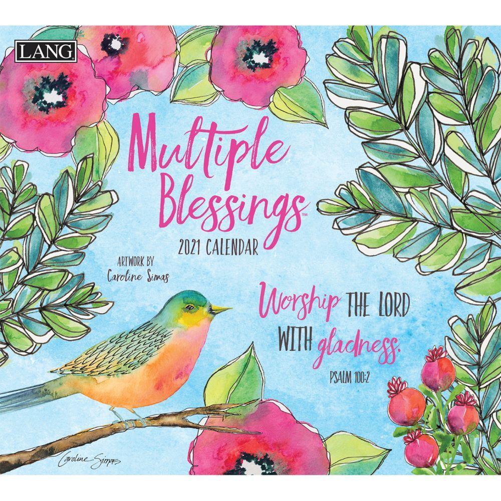 2021 Multiple Blessings Wall Calendar by Caroline Simas