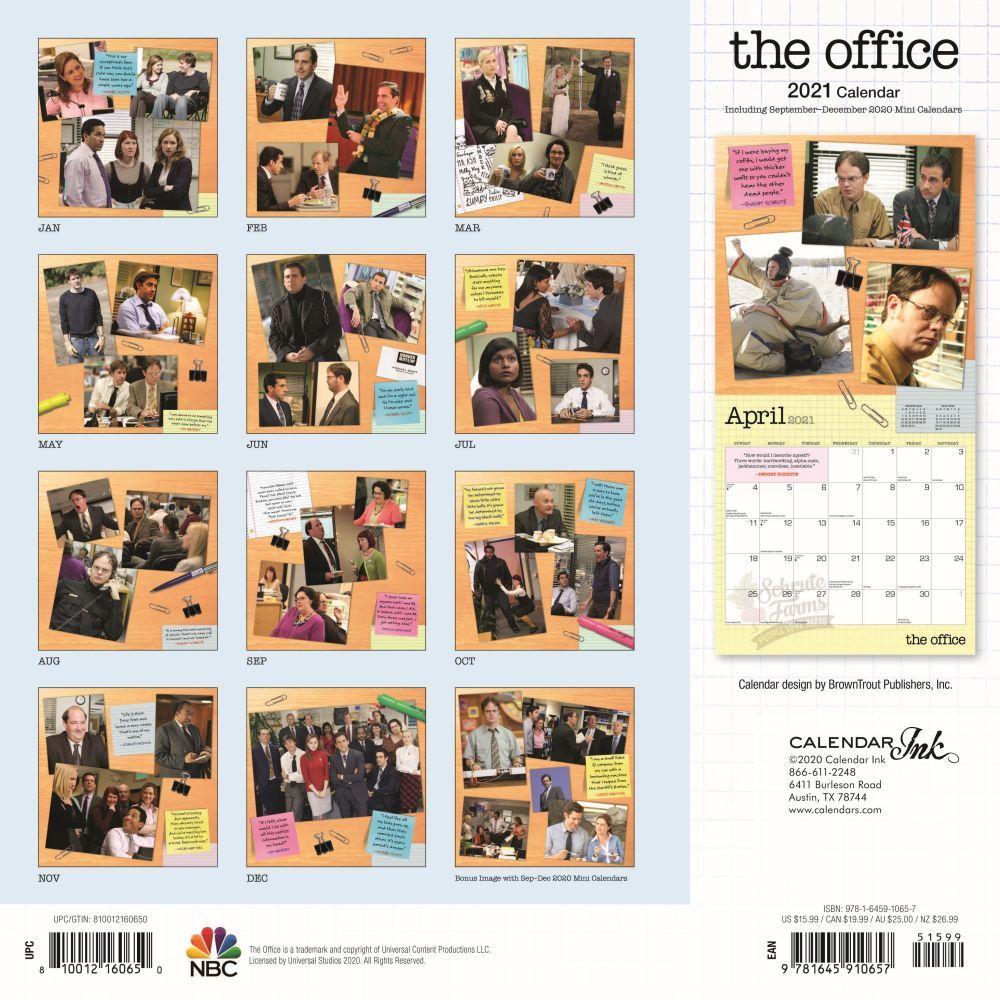 The Office Wall Calendar   Calendars.com