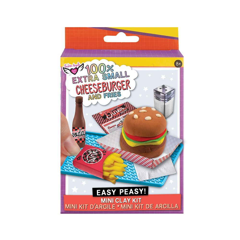 Extra-Small-Burger/Fries-Mini-Clay-Kit-1