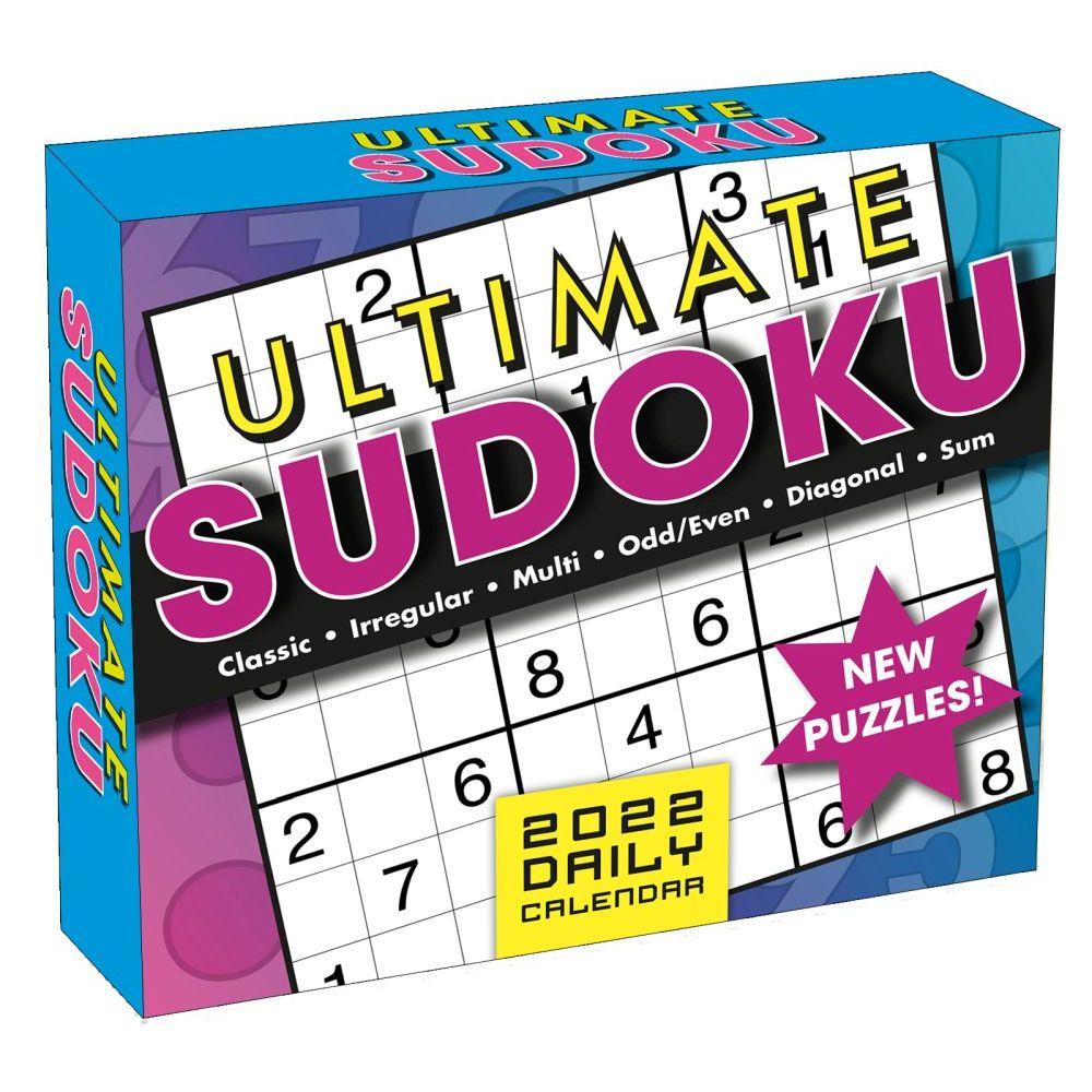 Ultimate Sudoku 2022 Desk Calendar