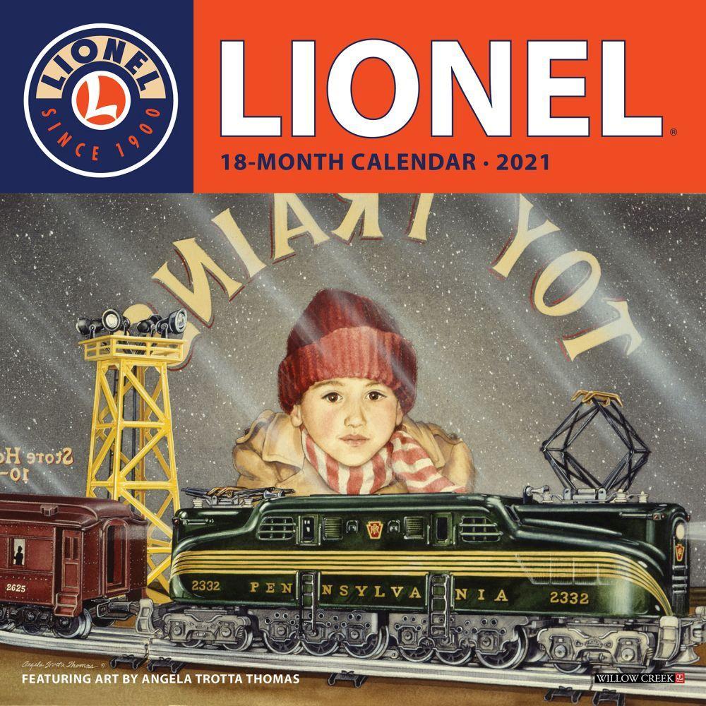 2021 Lionel Wall Calendar