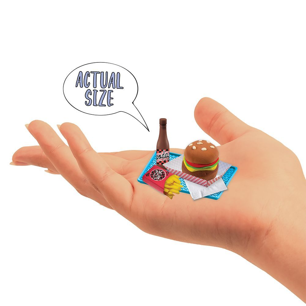 Extra Small Burger/Fries Mini Clay Kit-2