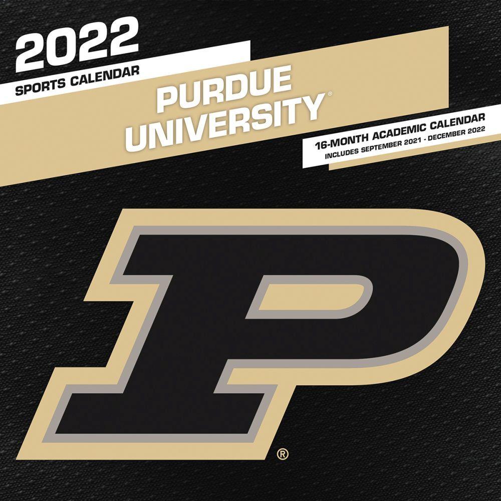 Purdue Fall 2022 Calendar.Purdue Boilermakers 2022 Wall Calendar Calendars Com
