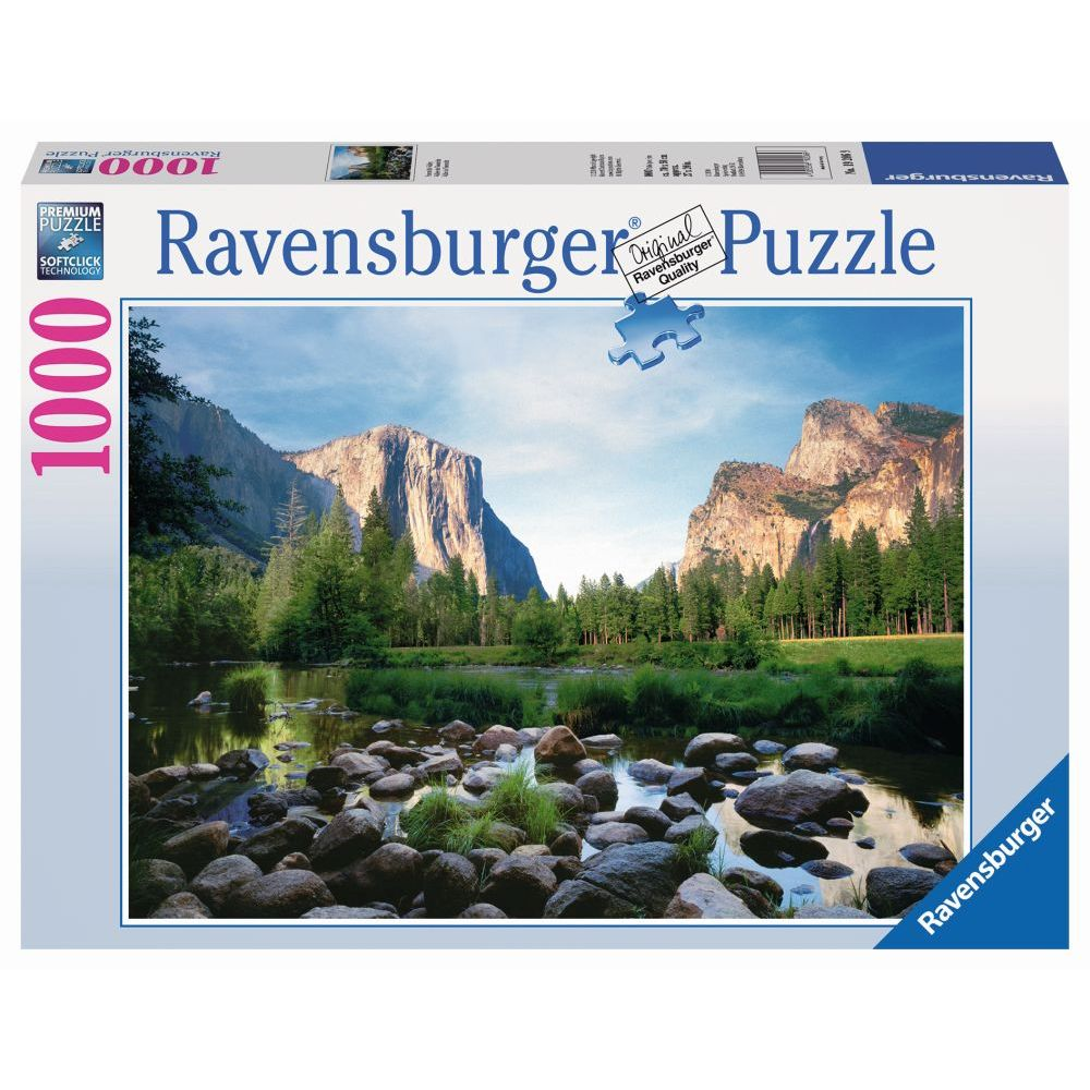 Best Yosemite Valley 1000pc Puzzle You Can Buy