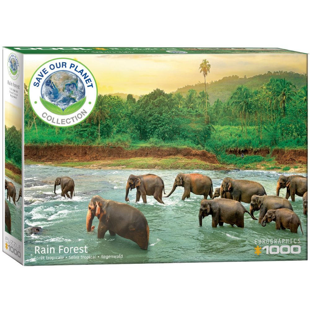 Best Save Our Planet Animal Kingdom 1000pc Puzzle You Can Buy