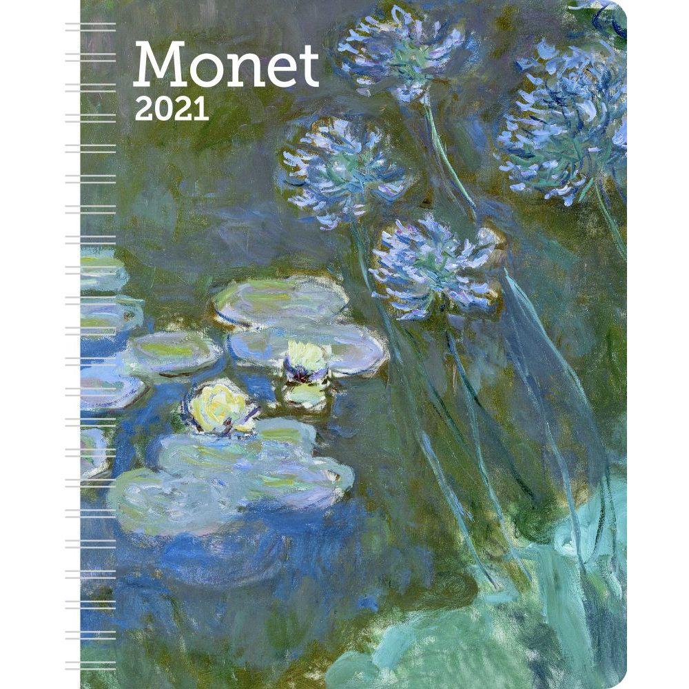 Claude Monet 2021 Weekly Planner