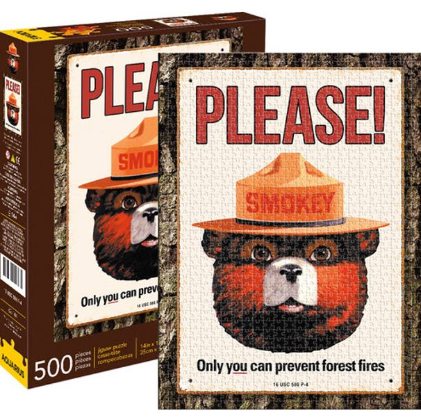 Best Smokey Bear 500pc Puzzle You Can Buy