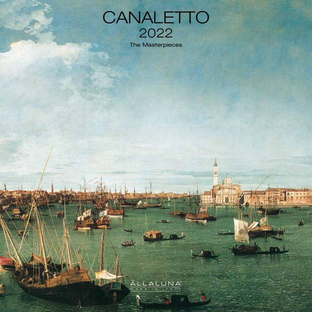 Canaletto 2022 Wall Calendar