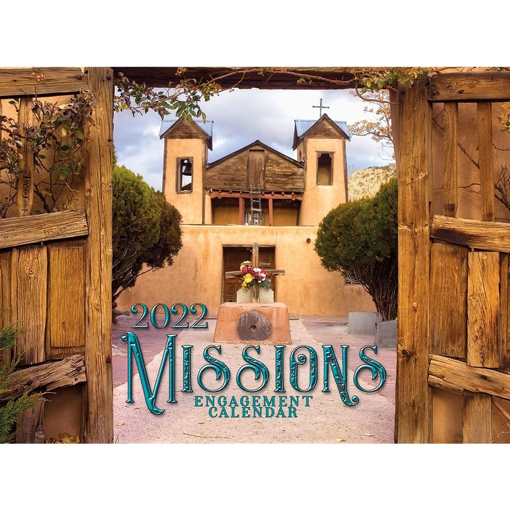 Missions 2022 Wall Calendar