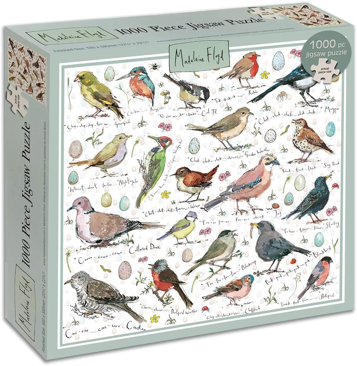 Best Madeleine Floyd Birdsong 1000 Piece Puzzle You Can Buy