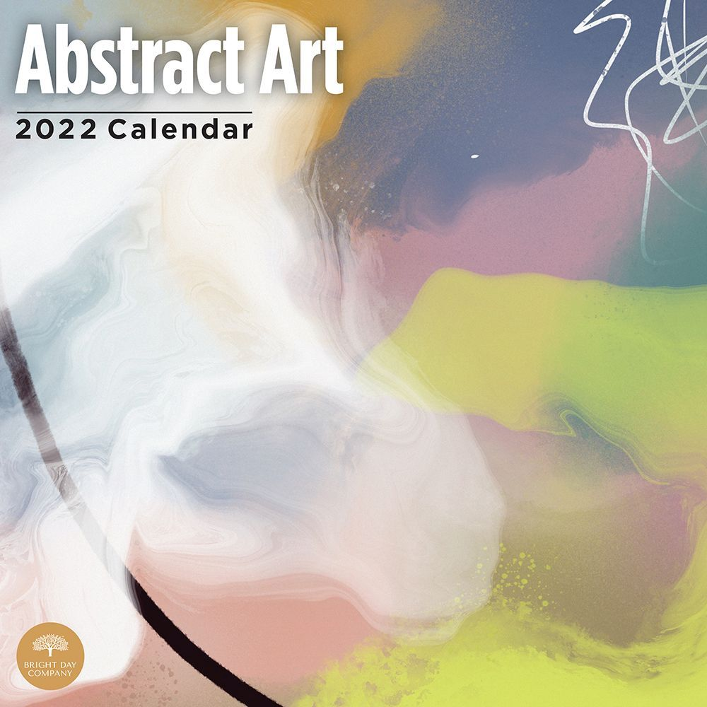 Abstract Art by Justin Victoria 2022 Wall Calendar
